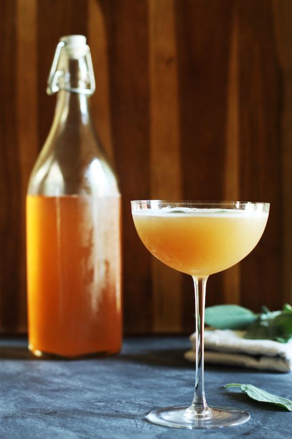 Peach Shrub Recipe | Set the Table