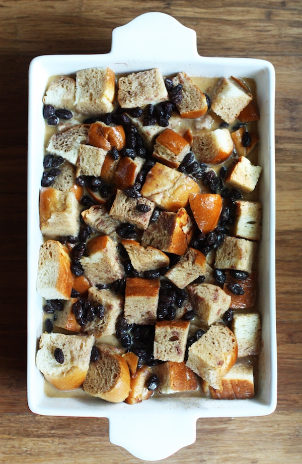 cinnamon bread pudding | Set the Table