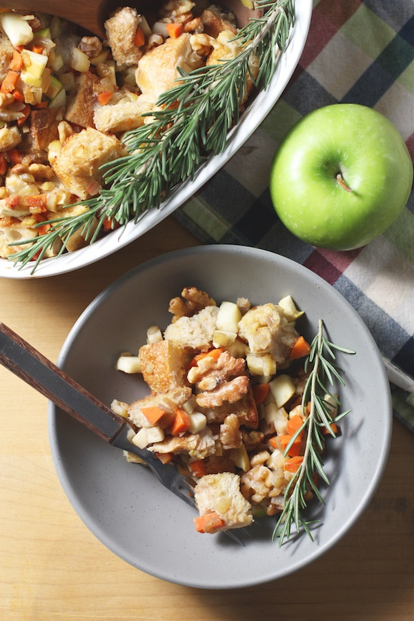 Stuffing with Miso Glazed Vegetables | Set the Table