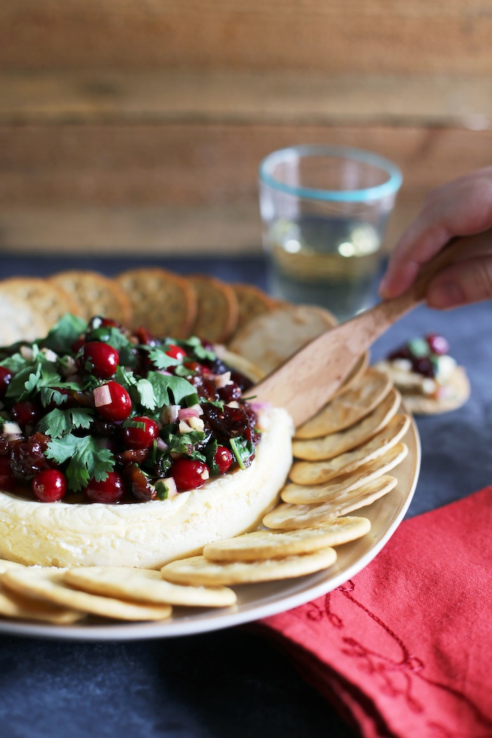 Cranberry Jalapeno Relish Appetizer | Set the Table