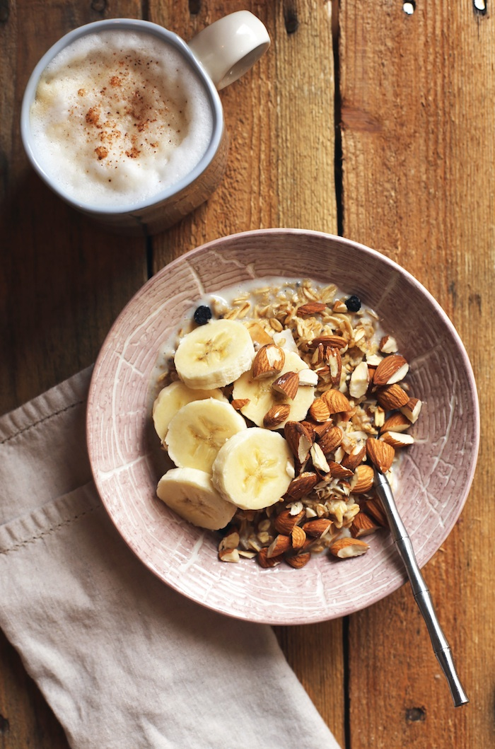 Gluten Free Hot Coconut Muesli | Set the Table