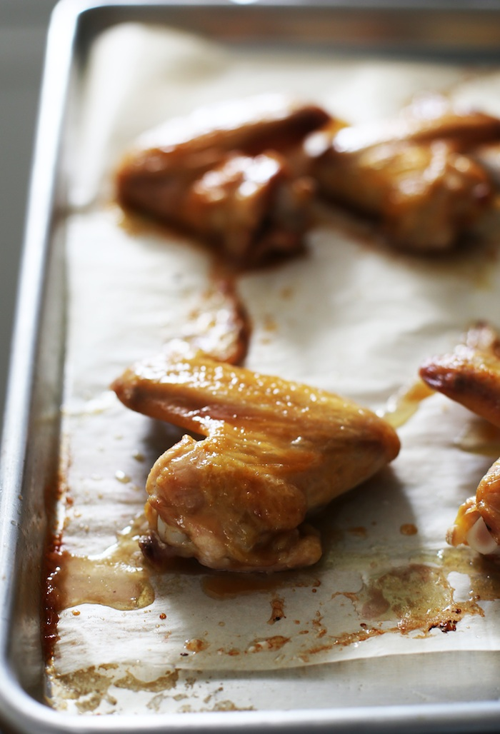 Sticky Miso-Honey Glazed Chicken Wings | Set the Table