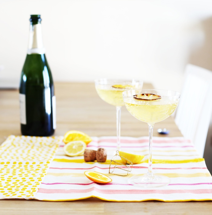 Broiled Citrus Cocktail | Set the Table