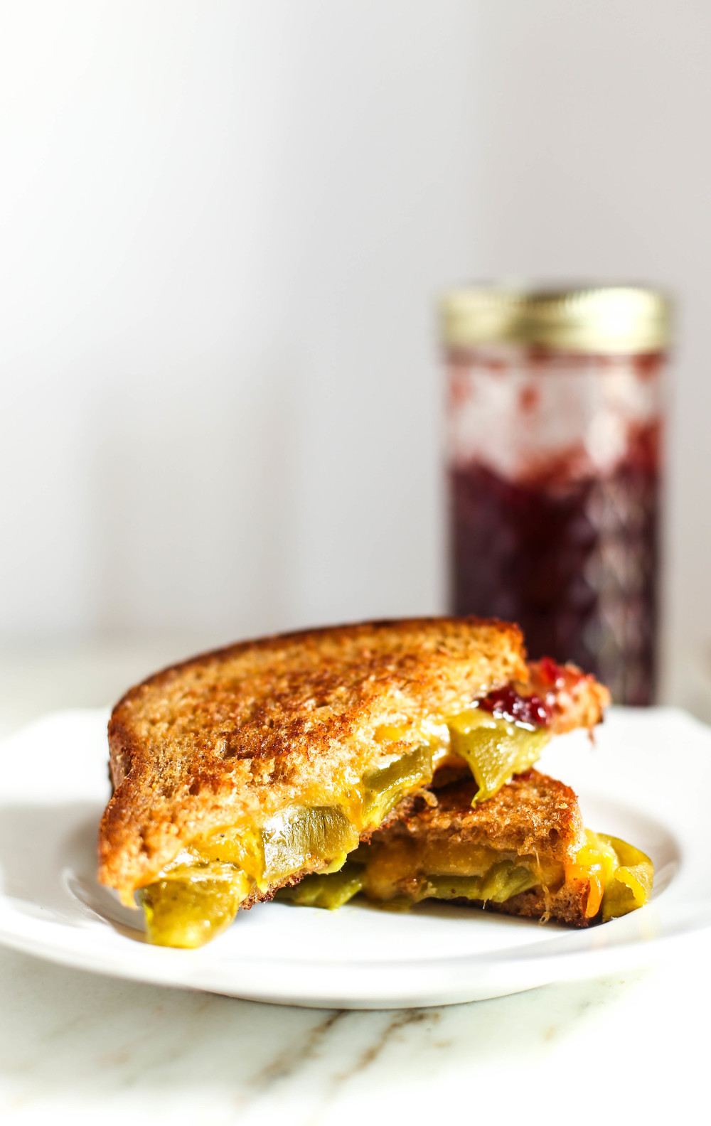 Pueblo Chile Grilled Cheese Sandwich
