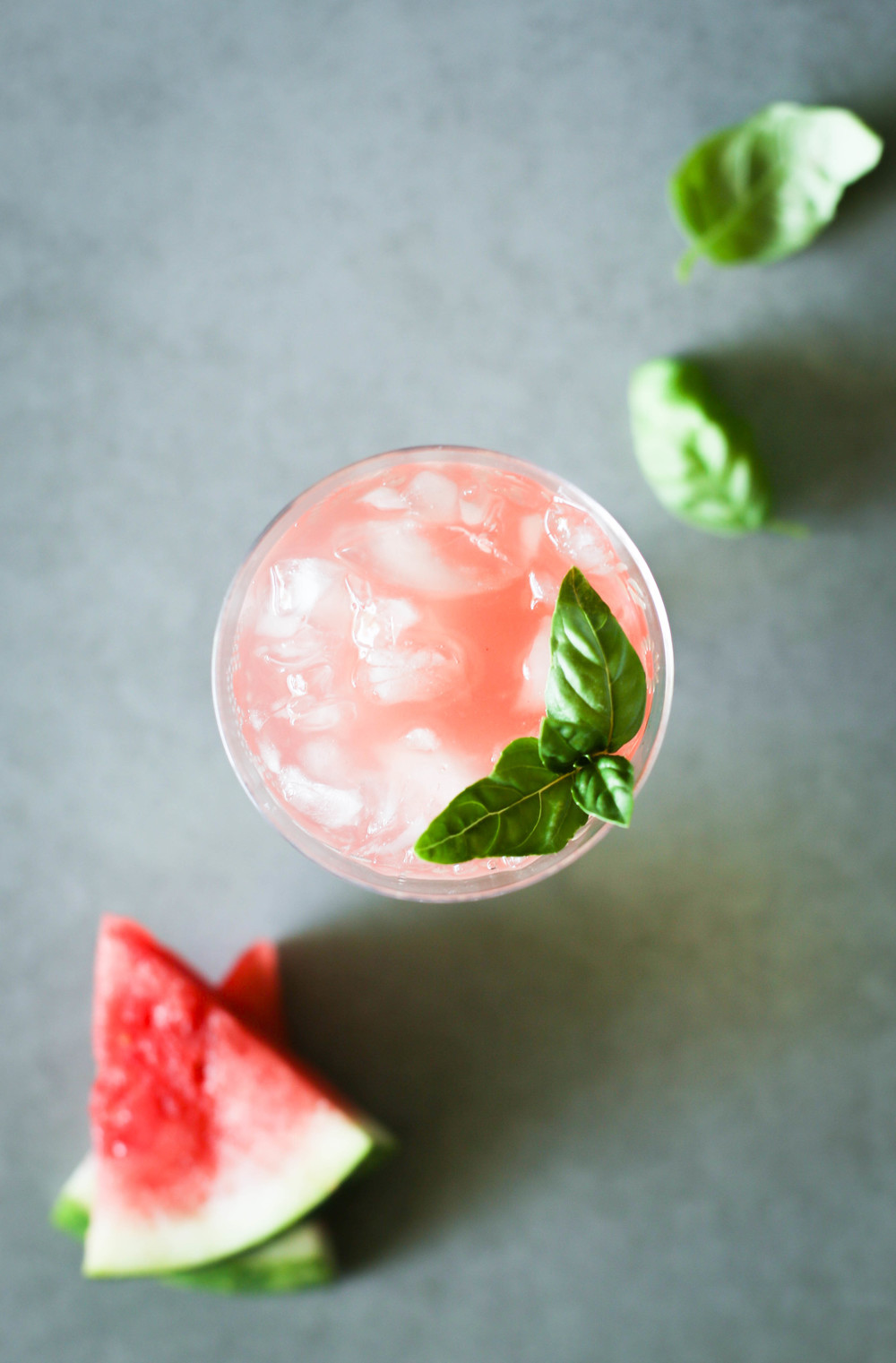 Watermelon Agua Fresca with Basil