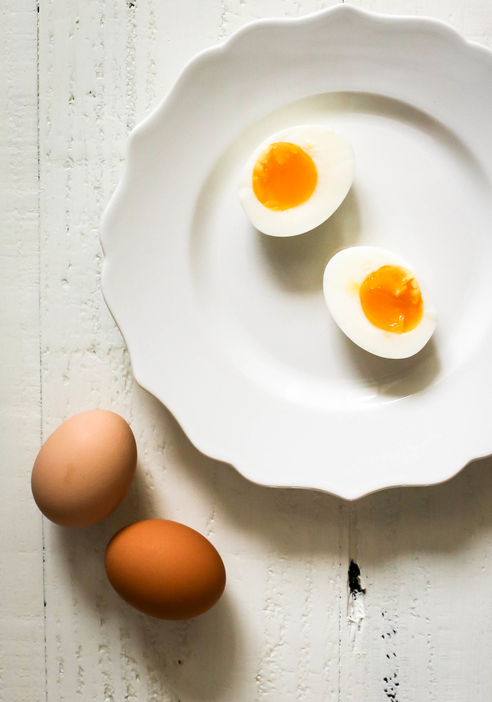 perfect soft boiled eggs at high altitude