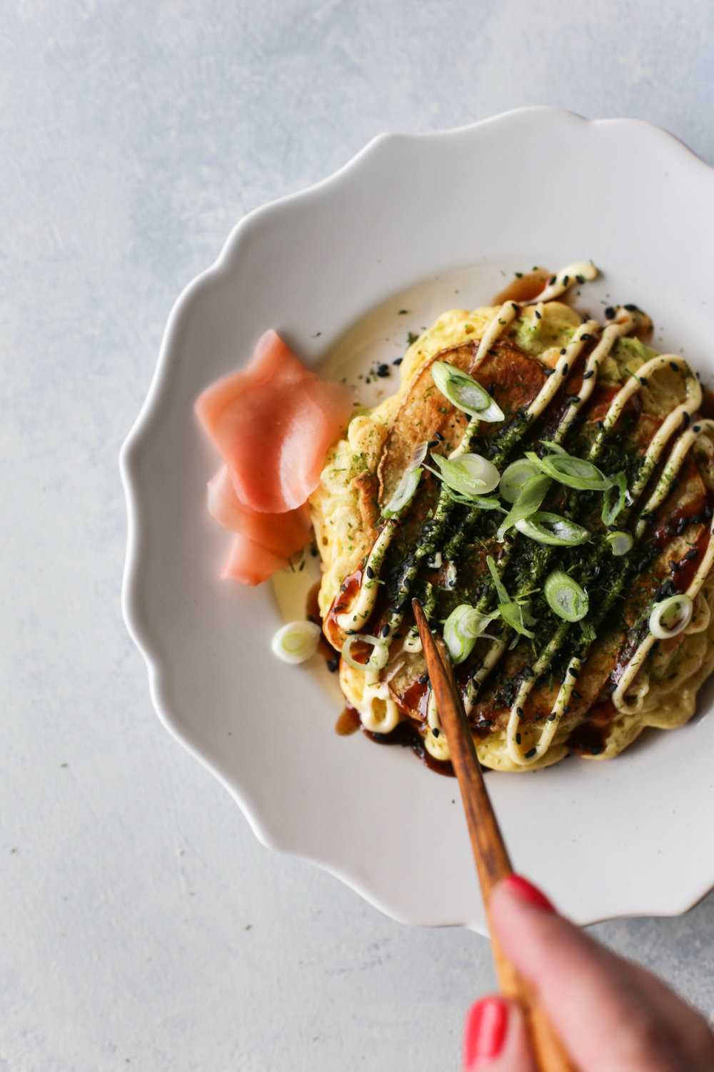 Potato Okonomiyaki Recipe