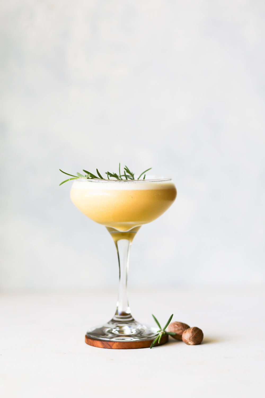 Ponderosa Pine Flip | Set the Table #bourboncocktail #fallcocktail #recipe