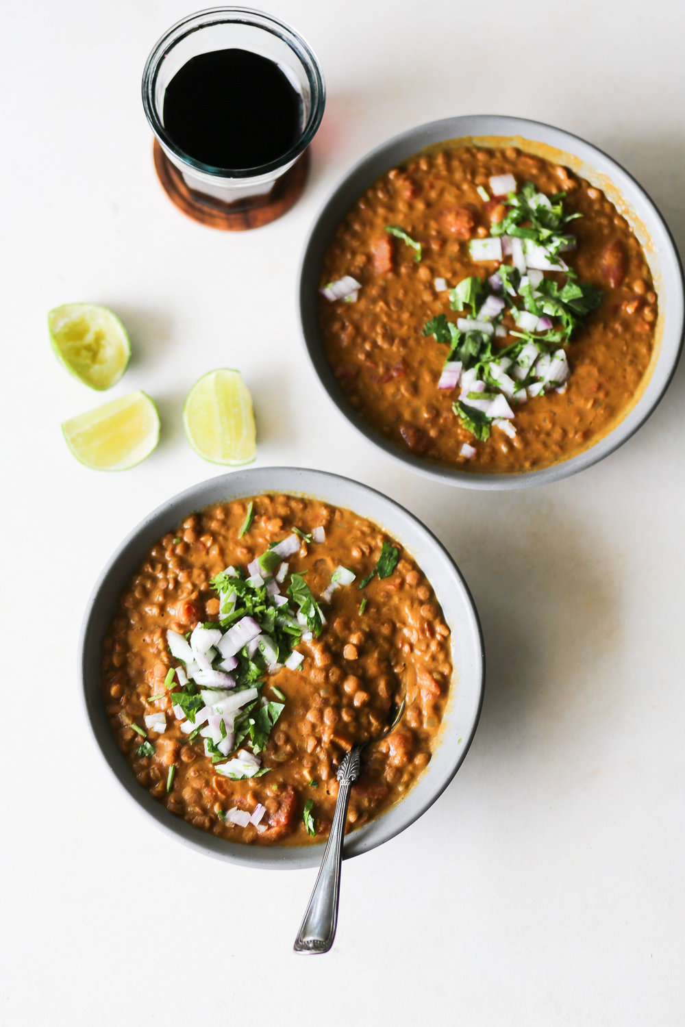 Instant Pot Curried Pumpkin & Lentil Soup | Set the Table #instantpotrecipes #curry #lentilsoup #weeknightmeals