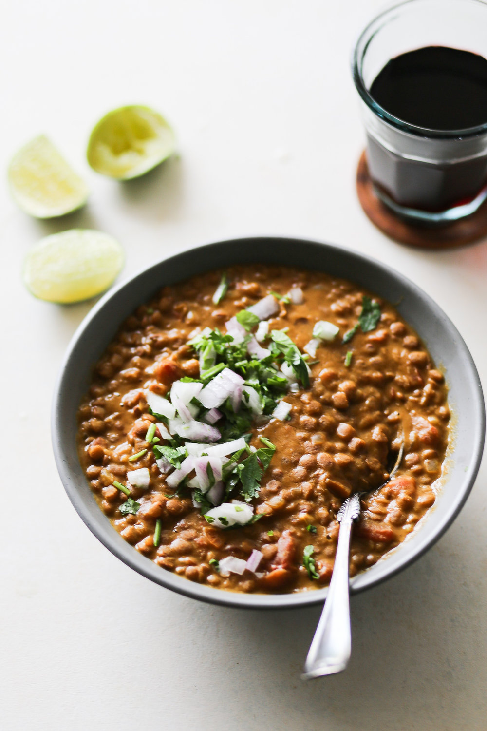 Instant Pot Curried Pumpkin & Lentil Soup | Set the Table #instantpot #recipe #curry #lentils #lentilsoup #easymeals #healthyeating #healthylunchrecipe