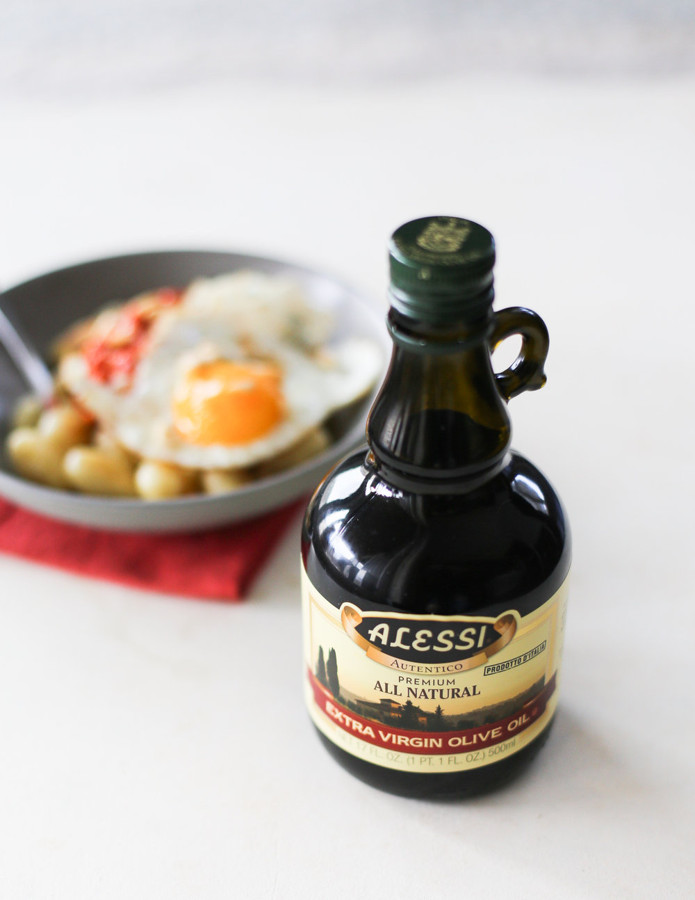Gnocchi with Red Pepper & Sun Dried Tomato Pesto | Set the Table #gnocchi #recipe #pesto #alessifoods #datenightin