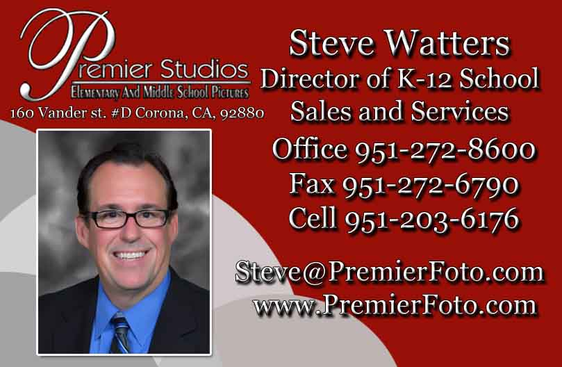 For Southern California - Contact  Steve Watters  for more information.