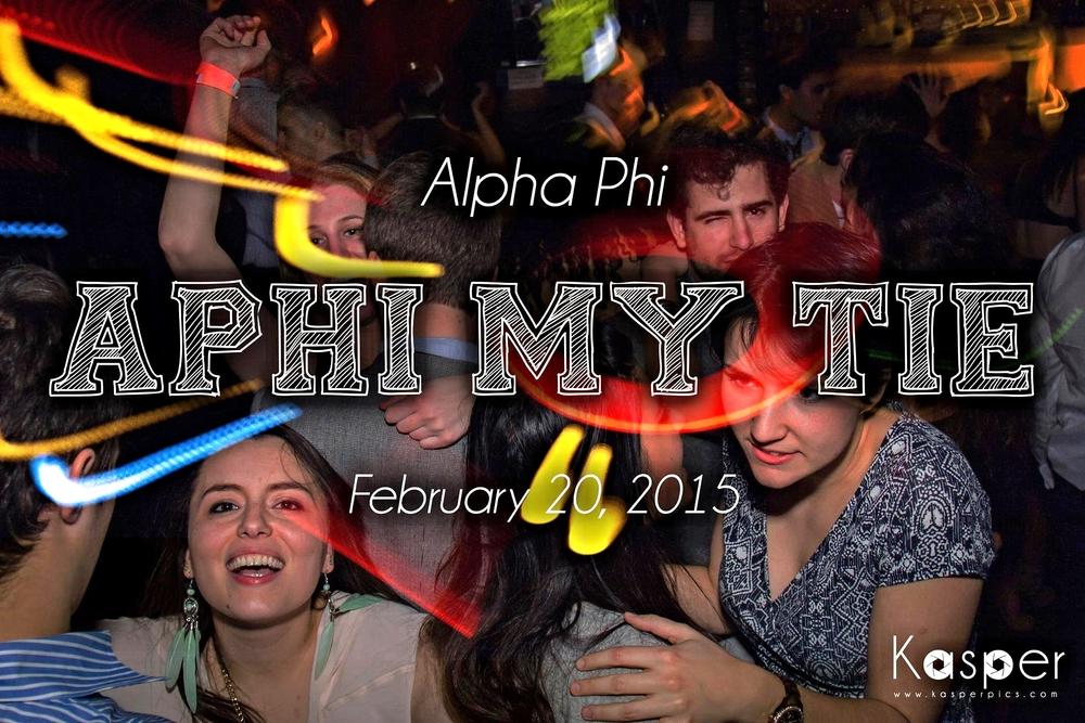 Alpha Phi My Tie (2/20/2015)