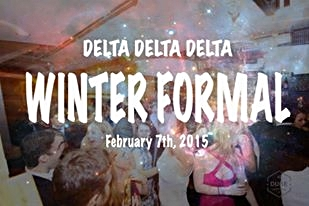 Tri Delta 2015 Winter Formal (2/7/2015)