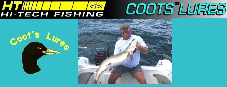 Coot's Lures | Fishing Lures | Walleye Lures | Planner Boards