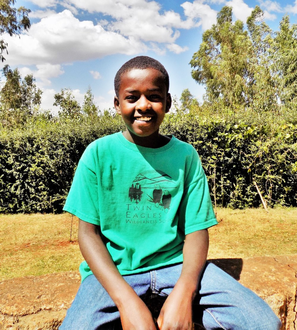 Yacob Yacob is one of our older children, and he is also deaf. He came to us last year, and has been working hard to adjust to his new life. He is very intelligent, but would rather play soccer than sit at a desk most days! Yacob is generously sponsored by Roslyn Ritchie-Darren.