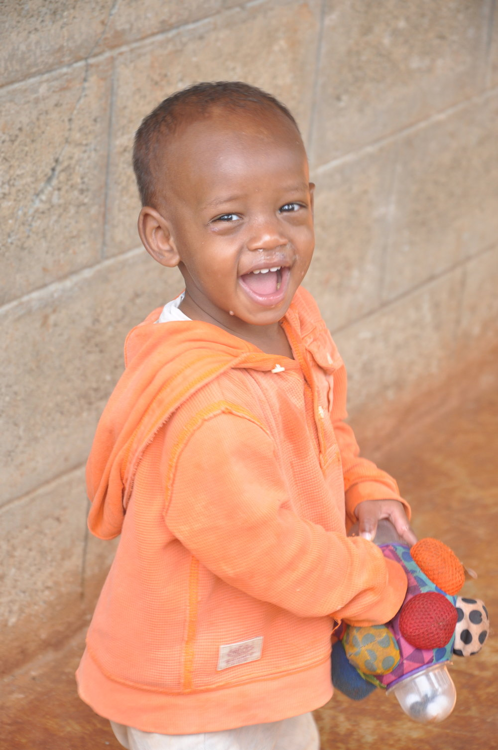 Desta  Desta is one of those baby boys who just can't seem to stop smiling, or making everyone around him grin like crazy too! He is mold.Desta is generously sponsored by Renata Collado, Enrique Gonzales, and Monica DeCima.