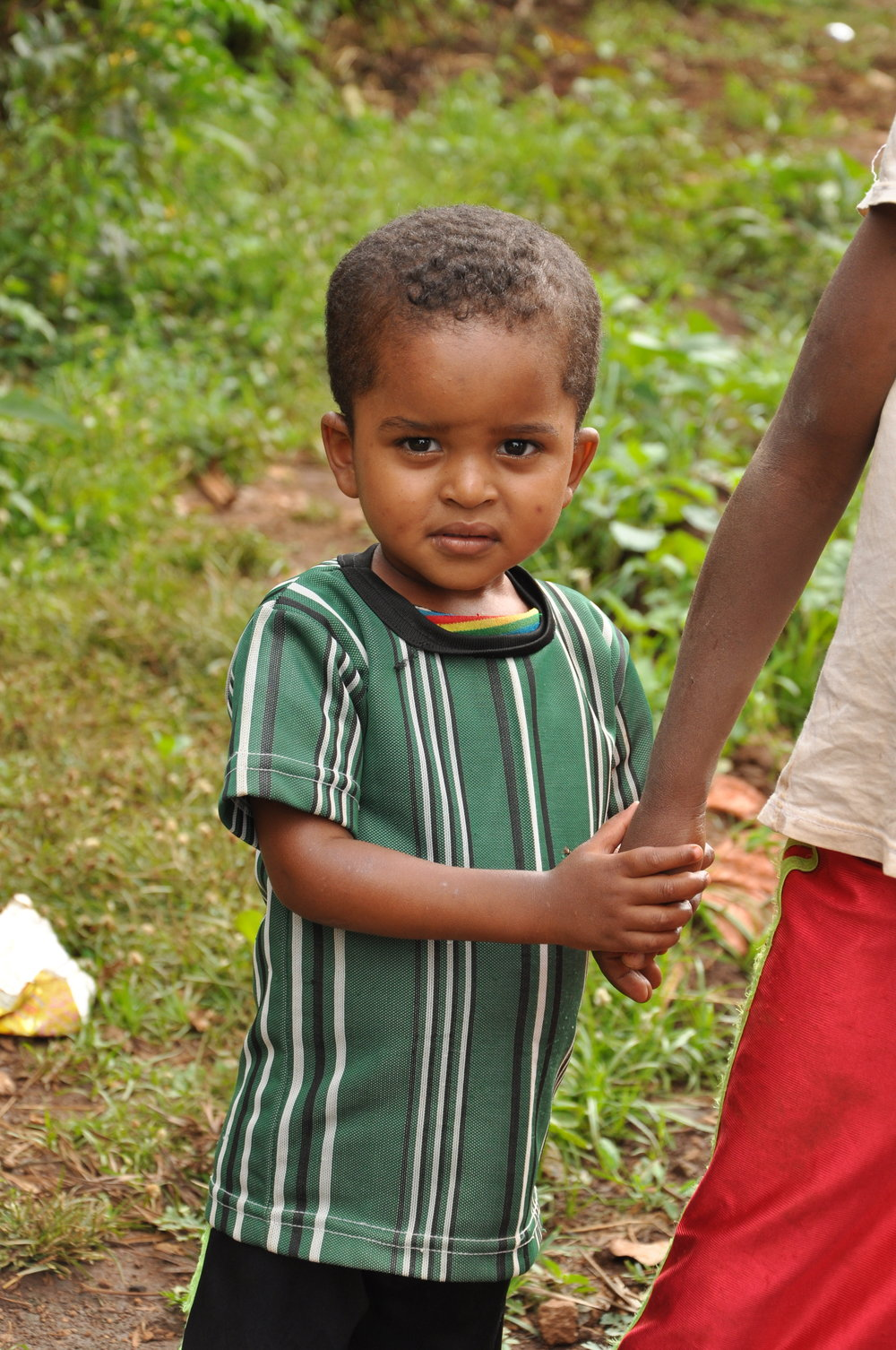 Kelmu   Kelmu came to us as a tiny baby from another orphanage that shut down due to lack of funding. That was almost two years ago, and he is now a giggly, energetic toddler who just loves everyone. Kelmu is generously sponsored by Eric and Ursula Navet.