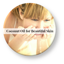 coconut oil for clear skin