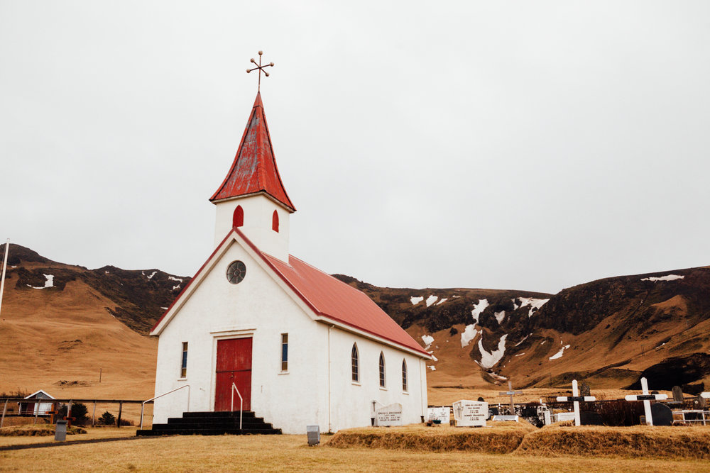 Another beautiful Icelandic church. This one is on the road that leads from Reynisfjara back to the main road.