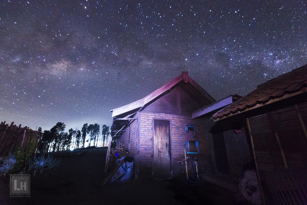 Barn in the Night