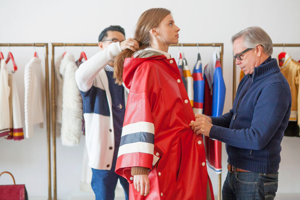 TOMMY HILFIGER - PRESHOW FITTING
