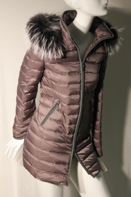 Basler 100% Down Coat w/ Fox Trim — Susanne-N