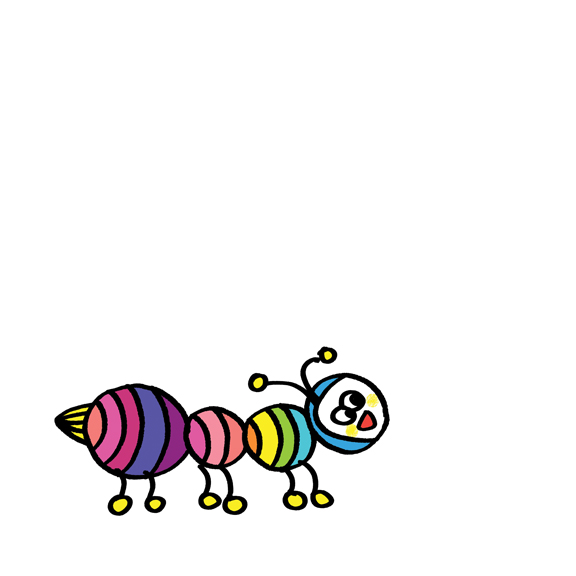 Little Ant Rainbow
