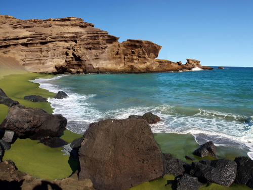 The Famous Green Sand Beach