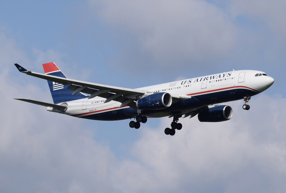 The US Airways name will slip into history tonight with the final flight under that brand