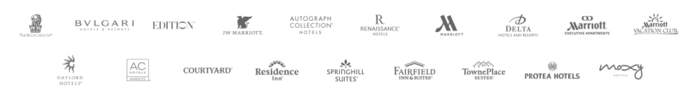 Marriott International brand portfolio