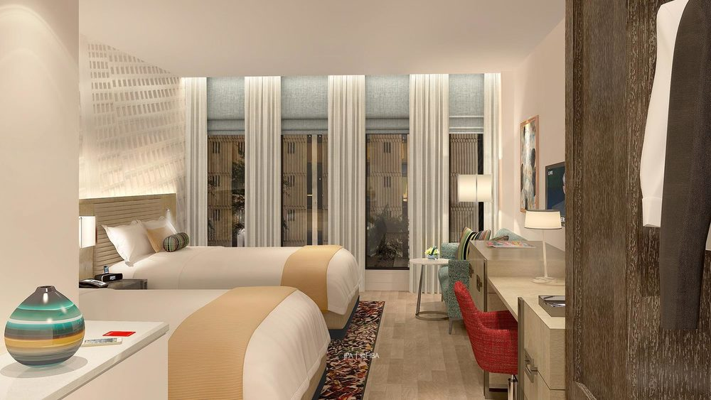 Room in new Hotel Indigo in downtown Atlanta   (Photo: Portman Holdings)