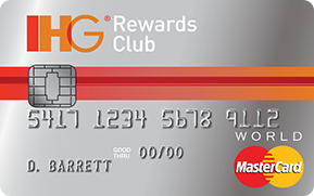 The IHG Rewards Club Select MasterCard is one of the most valuable credit cards I carry