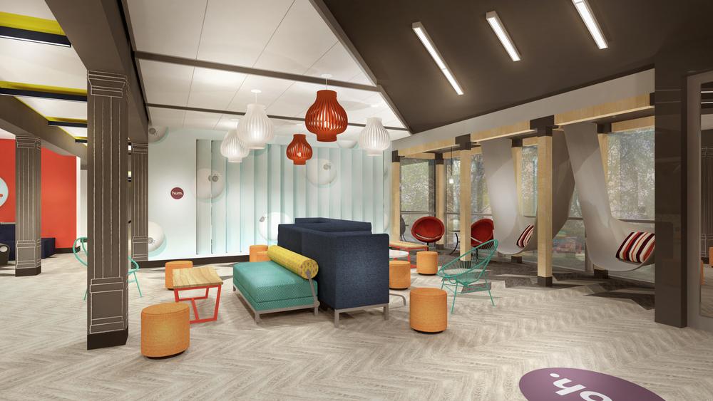 Lobby social area