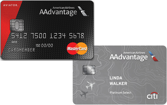 How do the two American AAdvantage credit cards from Barclaycard and Citibank compare?