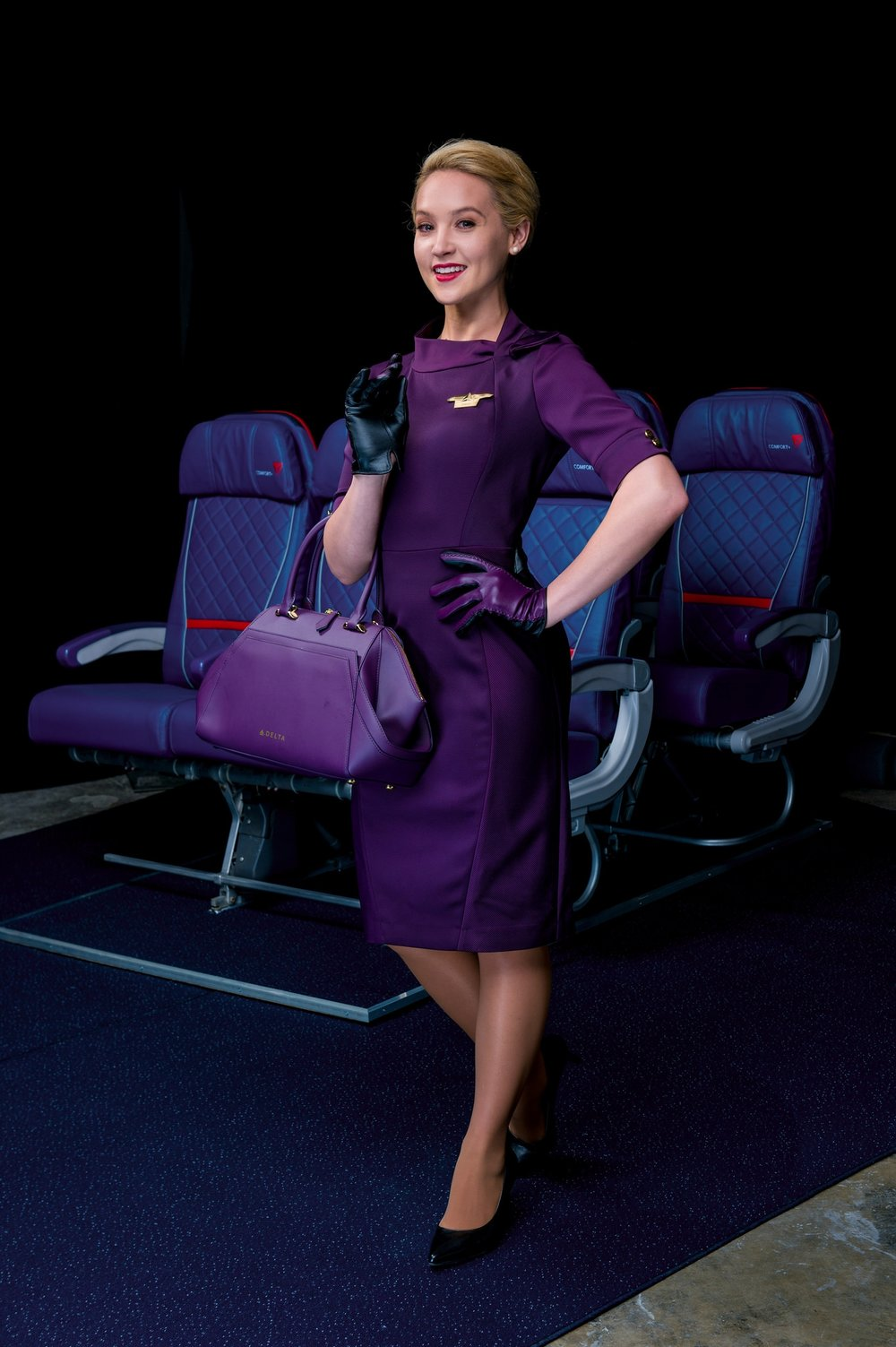 Female in-flight uniform
