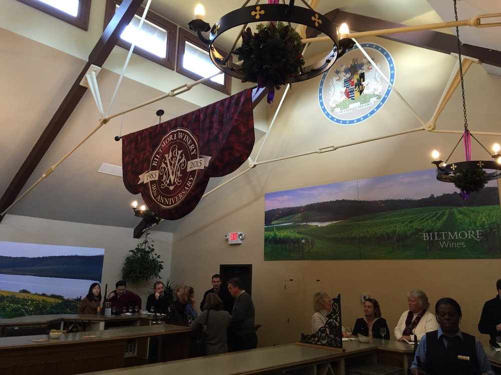 The winery tasting room.