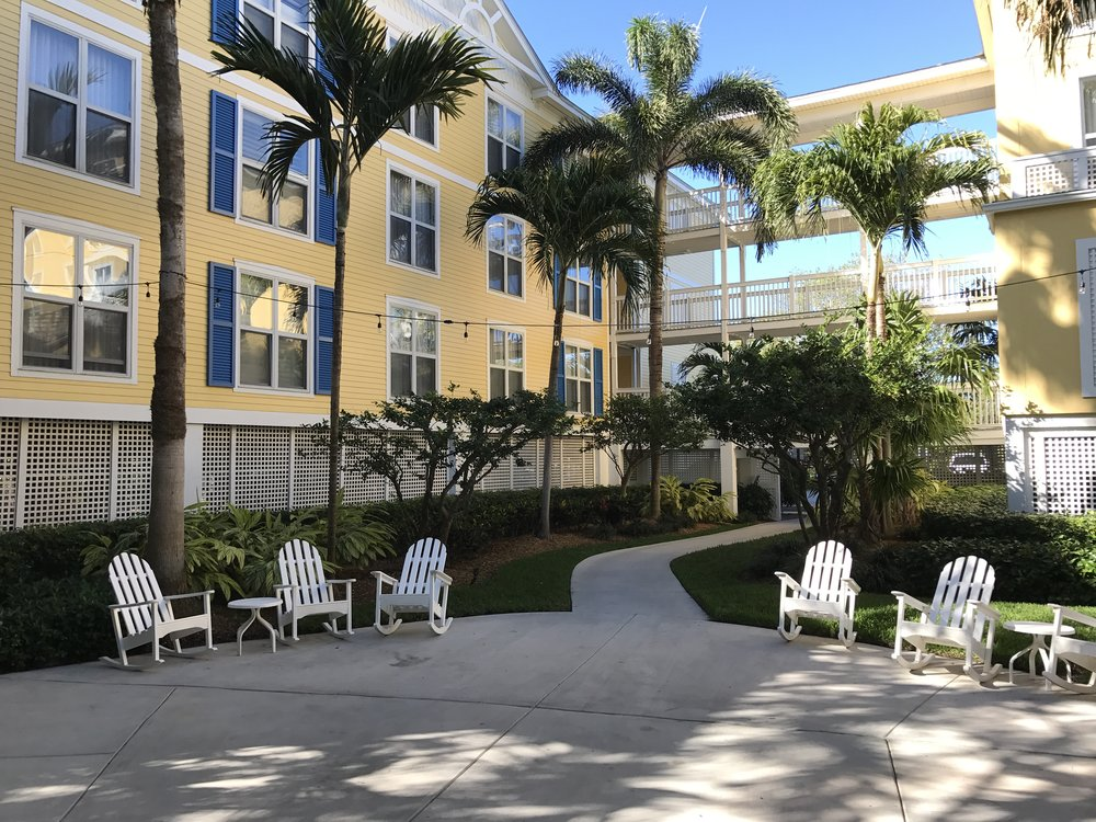 The Sheraton Suites Key West is located across from the beach and a short shuttle bus ride from downtown.