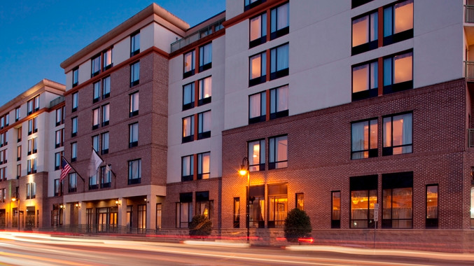 The DoubleTree Savannah Historic District is located on Bay Street in the heart of downtown.  ( Photo: Hilton )