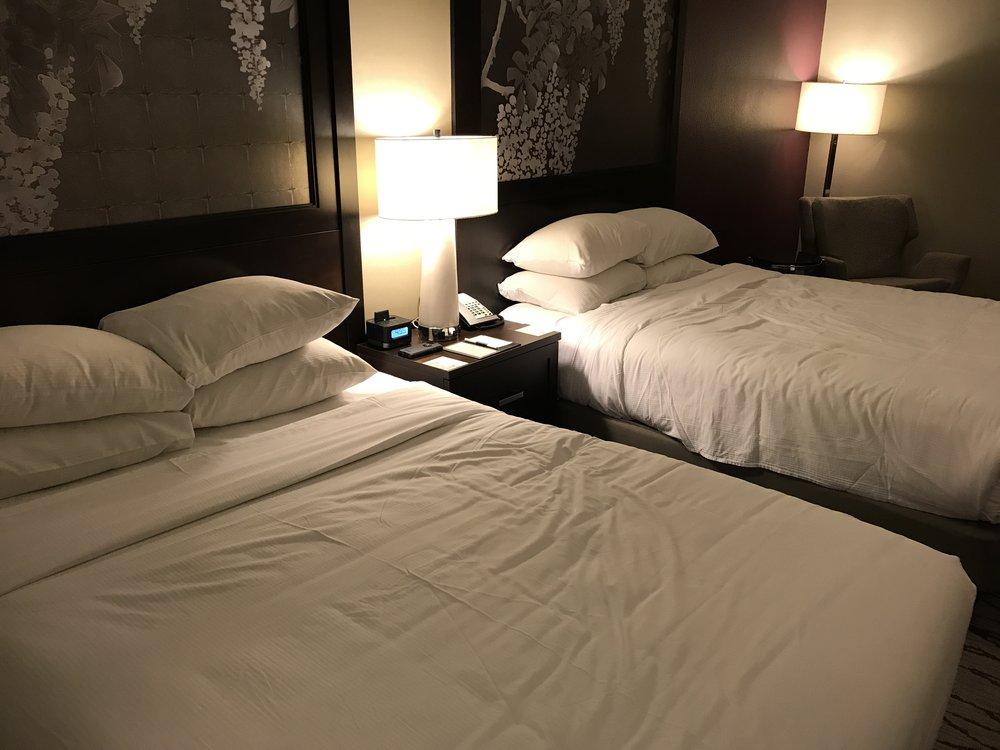 Double queen room (click to enlarge)