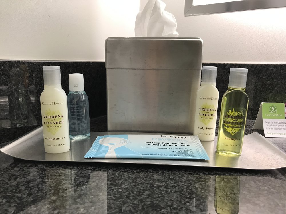 Crabtree & Evelyn toiletries