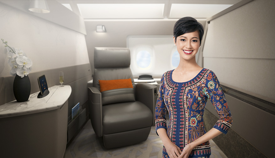 Singapore Airlines new A380 Suites class