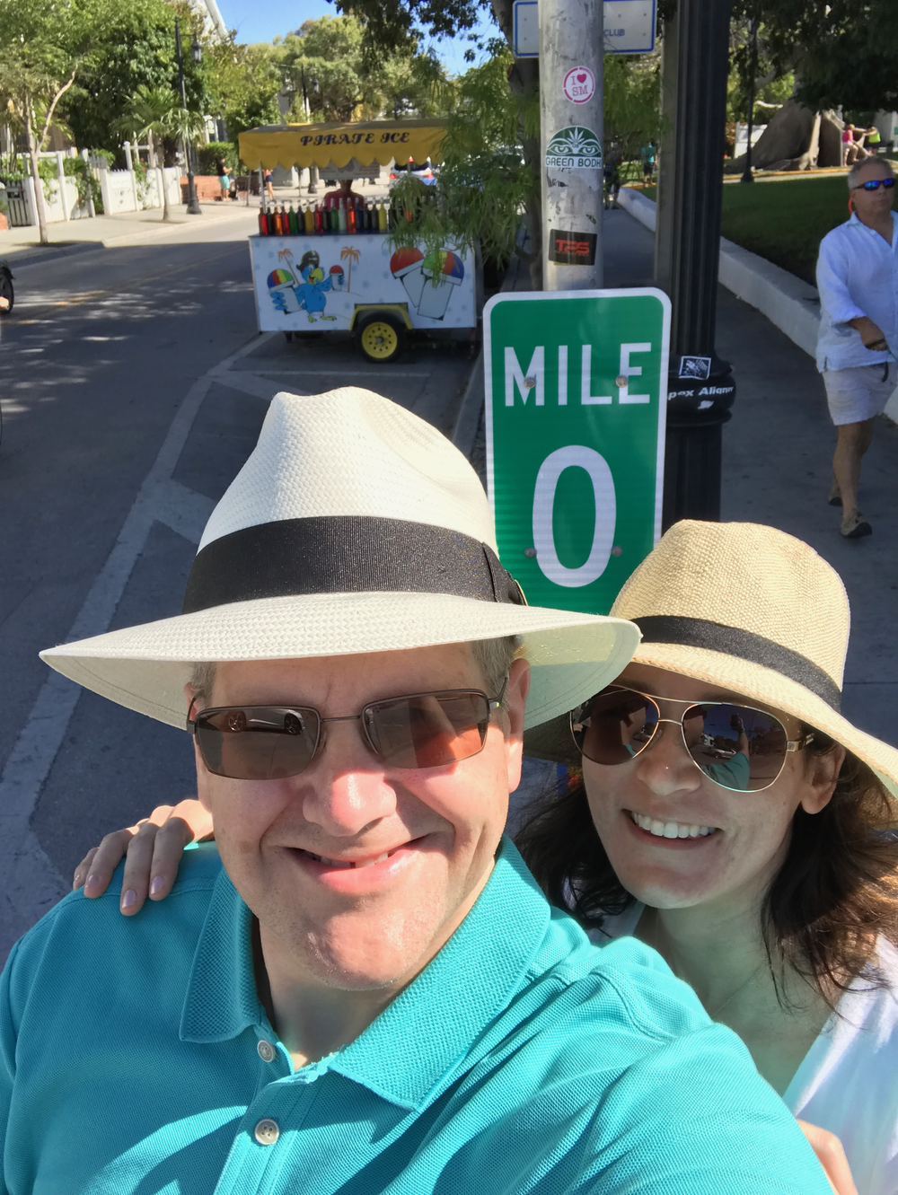 My wife and I in Key West, Florida
