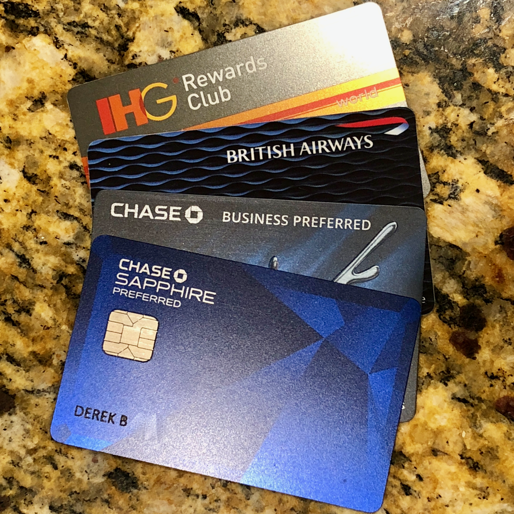 My Chase cards  (click to enlarge)