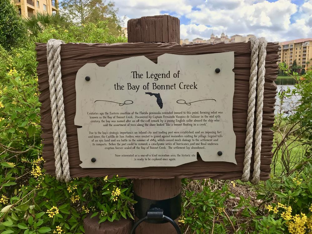 The Legend of the Bay Bonnet Creek
