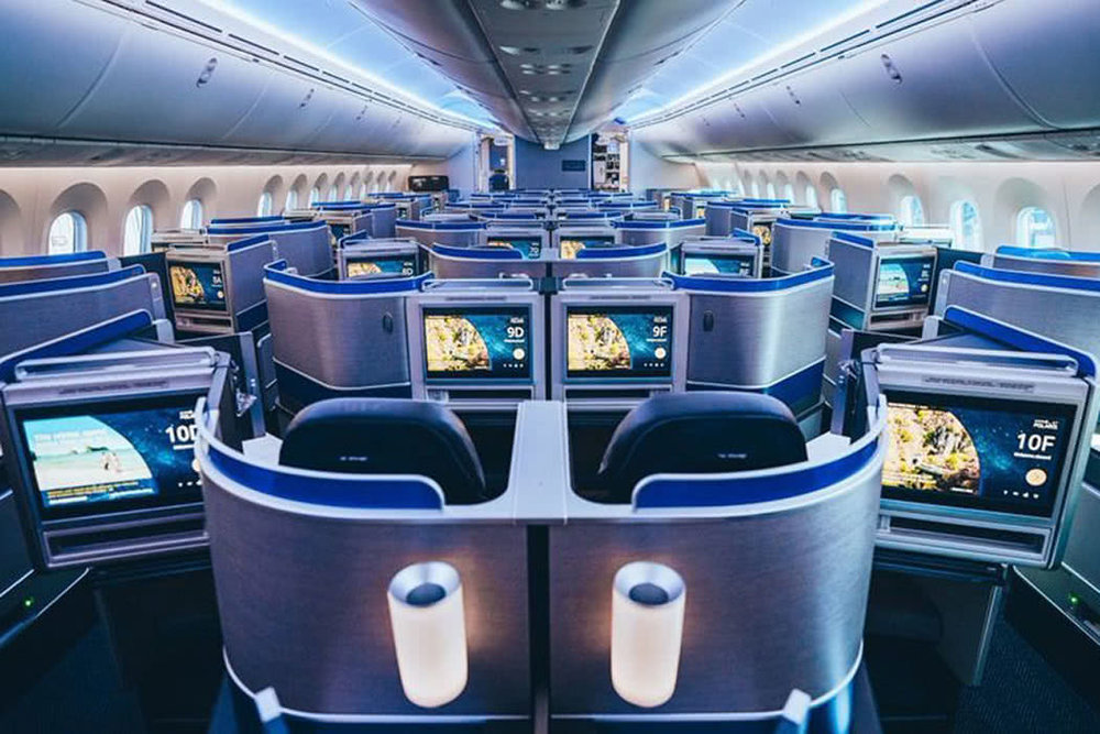 I can't wait to fly in Polaris business class on a United 787-10 Dreamliner!  (click to enlarge)