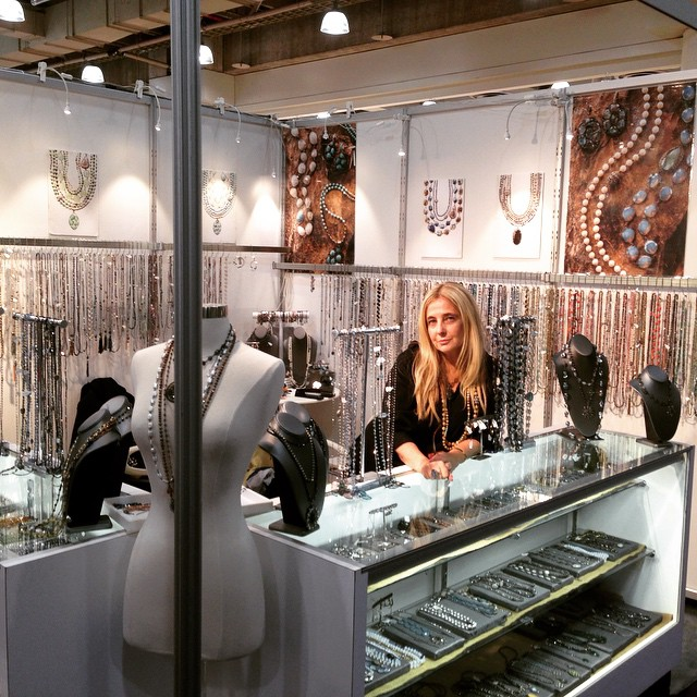 ENK accessories show at the Javits Center Both 7200 New York City  Stop by to see most beautiful jewels❤️❤️❤️❤️