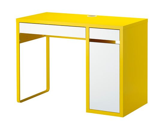 yellow_ikea_desk