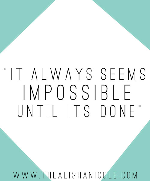 impossible-until-its-done