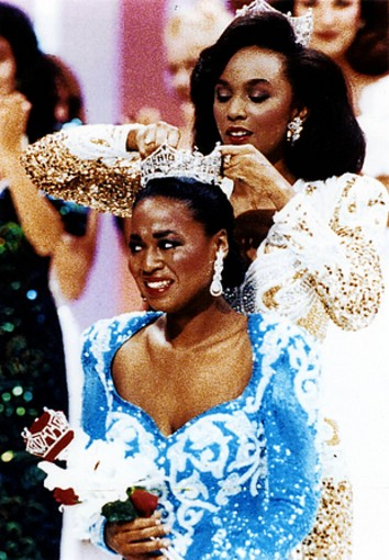 Nolte was privileged to dress two back-to-back Miss America's, Debbye Turner and Marjorie Vincent, in his designs.